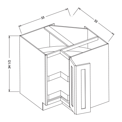 base kitchen lazy susan cabinet bls33 bls36. Black Bedroom Furniture Sets. Home Design Ideas