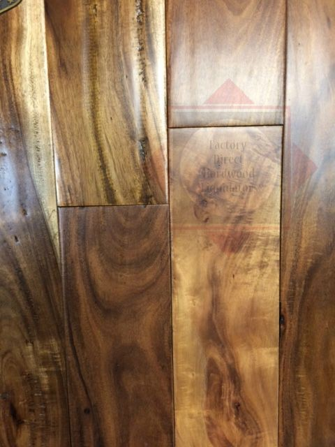 Tropical Flooring Exotic Walnut Acacia Natural Solid